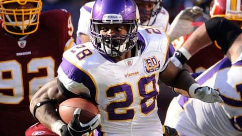 Minnesota Vikings RB Adrian Peterson