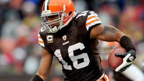 Cleveland Browns WR/KR Josh Cribbs