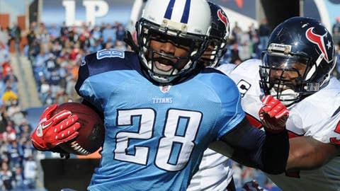 Tennessee Titans RB Chris Johnson