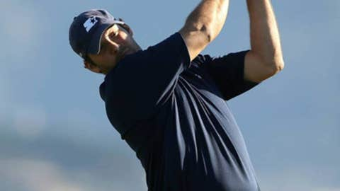 Tony Romo — Attempt to qualify for U.S. Open