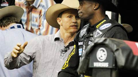 Chad Ochocinco — Bull riding, soccer