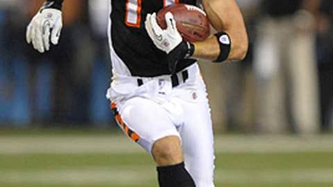 Cincinnati Bengals WR Jordan Shipley