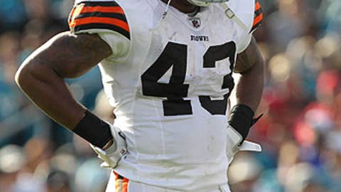 Cleveland Browns S T.J. Ward