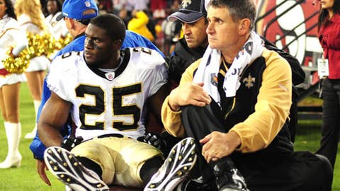 Reggie Bush, RB, Saints