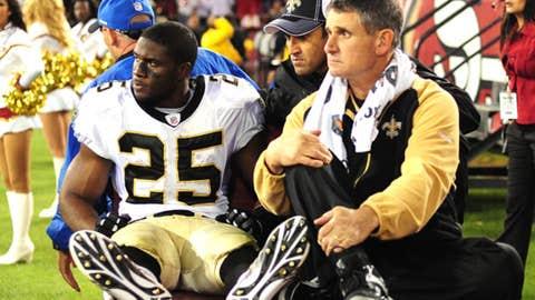 Reggie Bush, RB, Saints
