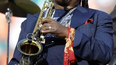 Saxophone for the gridiron?