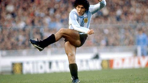 Diego Maradona joins Sheffield United in 1978