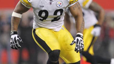 James Harrison, LB, Pittsburgh Steelers