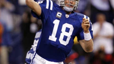 Peyton Manning, QB, Indianapolis Colts