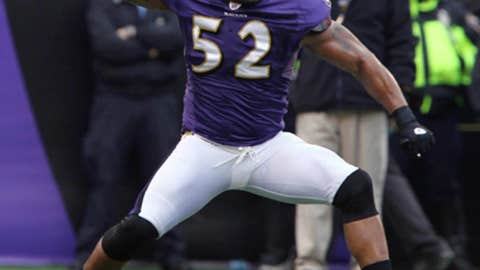 Ray Lewis, LB, Baltimore Ravens