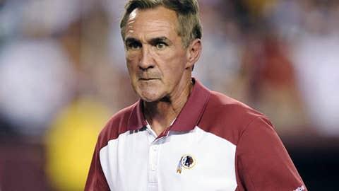Redskins head coach Mike Shanahan