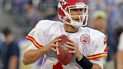 Chiefs quarterback Matt Cassel