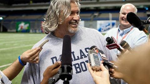 Cowboys defensive coordinator Rob Ryan