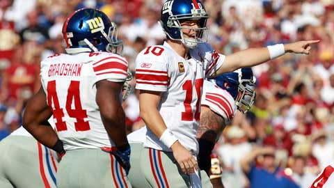 What's the book on Eli