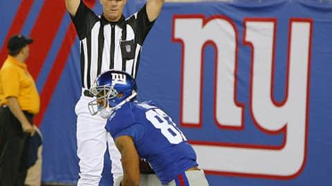 Domenik Hixon, WR, Giants