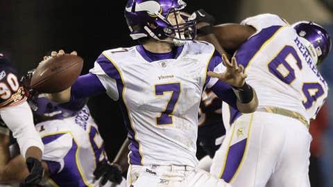 Green Bay Packers at Minnesota Vikings (Sunday, 4:15 p.m. ET, FOX)