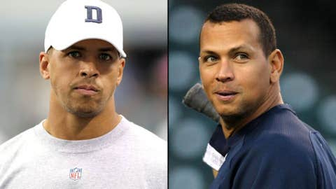 Cowboys WR Miles Austin and Yankees' Alex Rodriguez