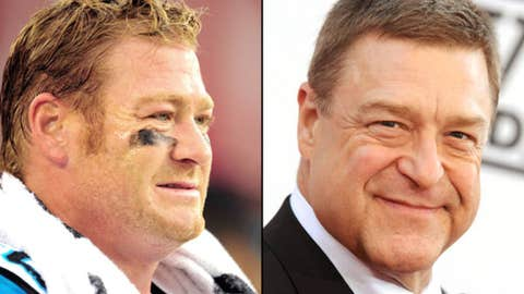 Ex-Panthers TE Jeremy Shockey and actor John Goodman