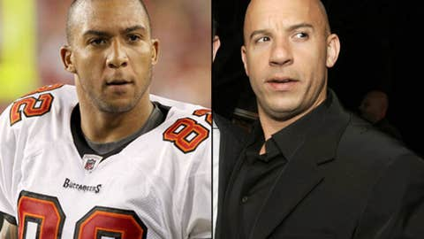 Ex-Bucs TE Kellen Winslow and actor Vin Diesel