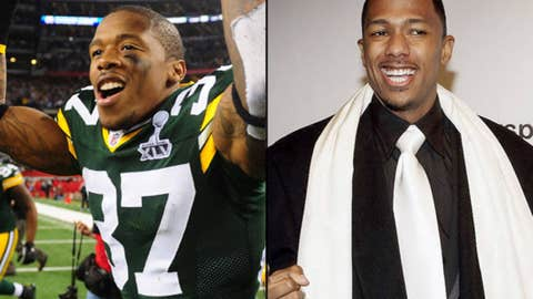 Packers DB Sam Shields and personality Nick Cannon