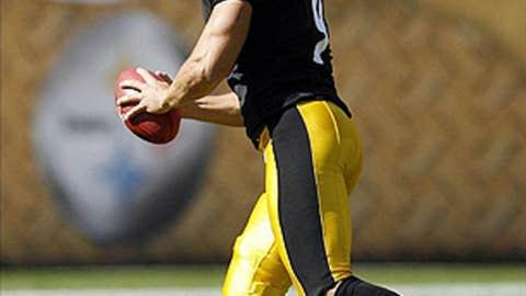 Daniel Sepulveda, P, Steelers