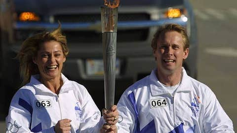 Nadia Comaneci and Bart Conner (married)