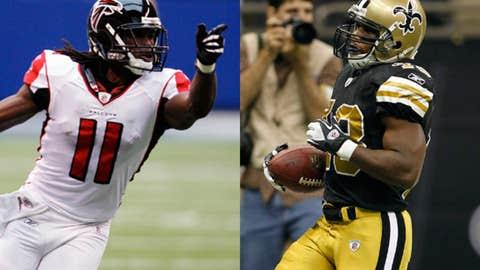 New Orleans Saints at Atlanta Falcons (Sunday, 1 p.m. ET, FOX)