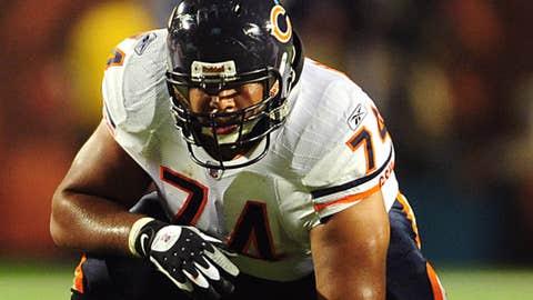Chris Williams, LG, Chicago Bears