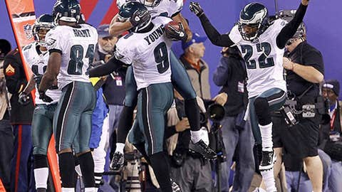 Five keys to Eagles win over Giants