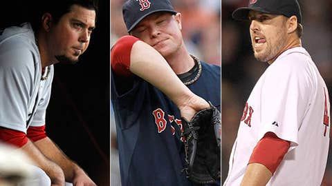 Red Sox pitching staff