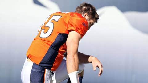 2010: QB Tim Tebow, Broncos (25th overall)