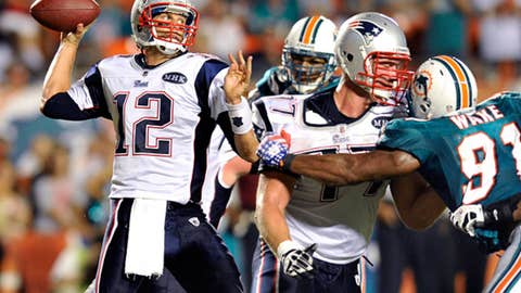 Week 1: Pats 38, Dolphins 24