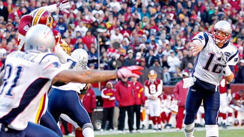 Week 14: Patriots 34, Redskins 27