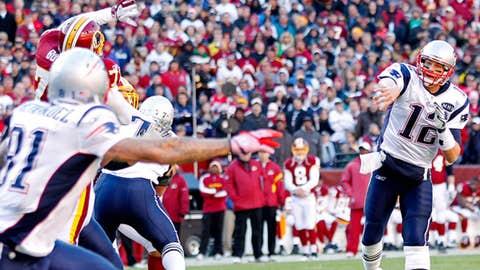Week 14: Patriots 34, Redskins 27