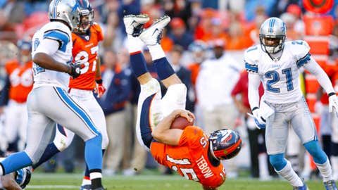 Broncos 10, Lions 45