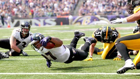Ravens 35, Steelers 7