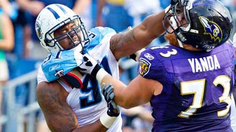 Titans 26, Ravens 13