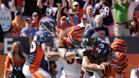Broncos 24, Bengals 22
