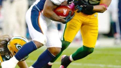 Broncos 23, Packers 49