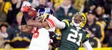 Giants take on the Packers at Lambeau action gallery