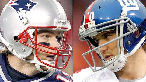 Tom Brady will outplay Eli Manning