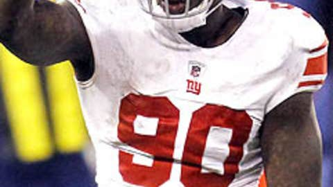 The Giants will have more sacks than the Patriots