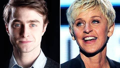 Daniel Radcliffe vs. Ellen DeGeneres