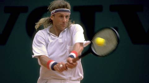 Bjorn Borg in 1991