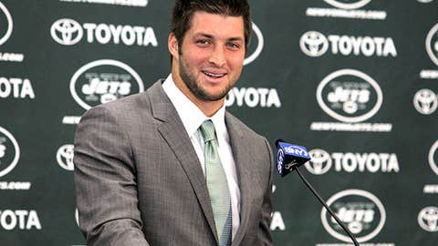 Tebow Becomes a Jet