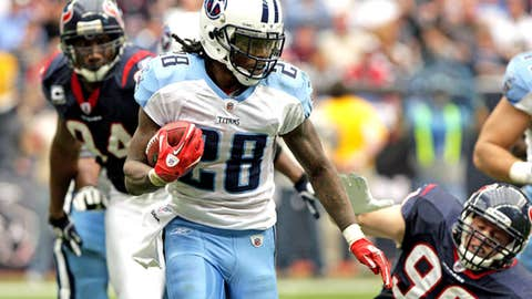 Out of nowhere: Chris Johnson