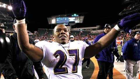 Out of nowhere: Ray Rice