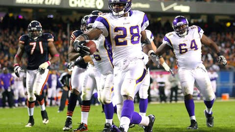Saw it coming: Adrian Peterson
