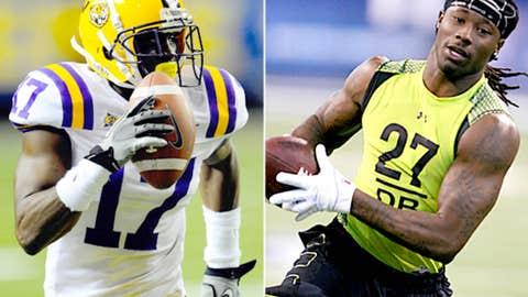 Cornerbacks: Morris Claiborne (LSU) and Janoris Jenkins (North Alabama)