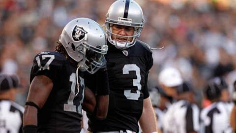 Raiders: 8-8 in 2011; no first-round pick